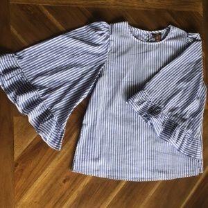 Marina Luna Bell Sleeve Top